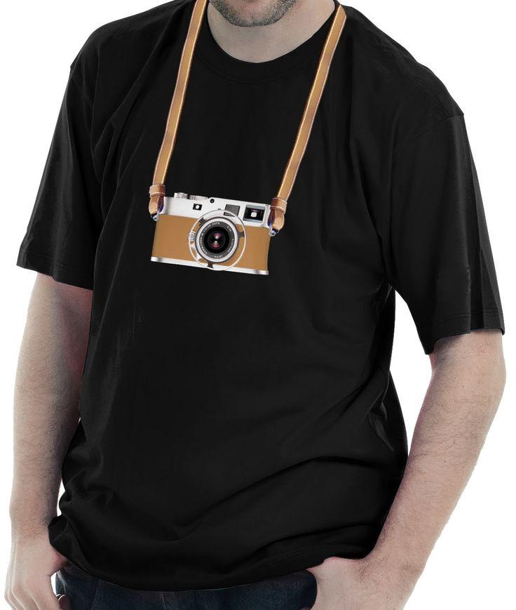 Camiseta estampada com a imagem da câmera Leica Hermès - Edição Especial