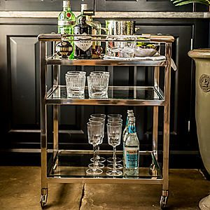 Culinary Concepts Art Deco Drinks Trolley #kaleidoscope #home