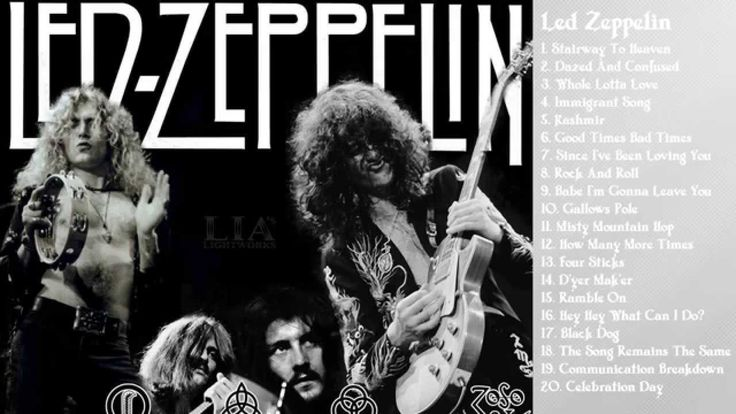 LED ZEPPELIN: Greatest hits full album | Best songs of Led Zeppelin