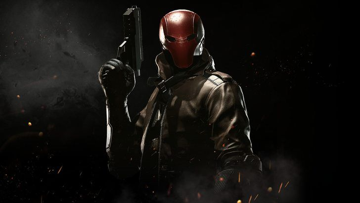 Red Hood Injustice 2 Game Wallpaper