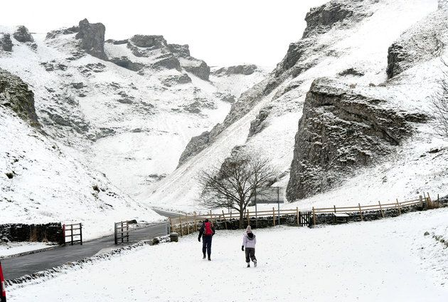 Met Office Issues Weather Alerts As Snow Could Cut Off Some Areas