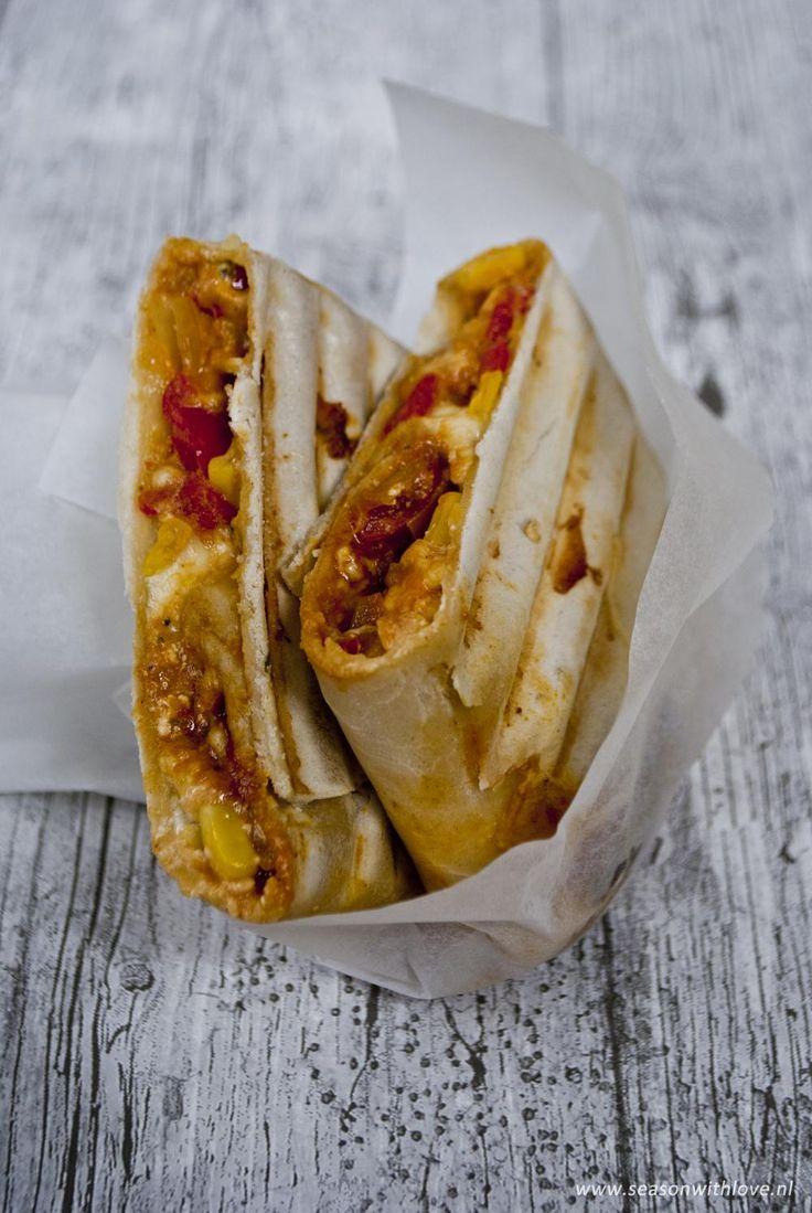 Vegetarische burrito's - Season with love