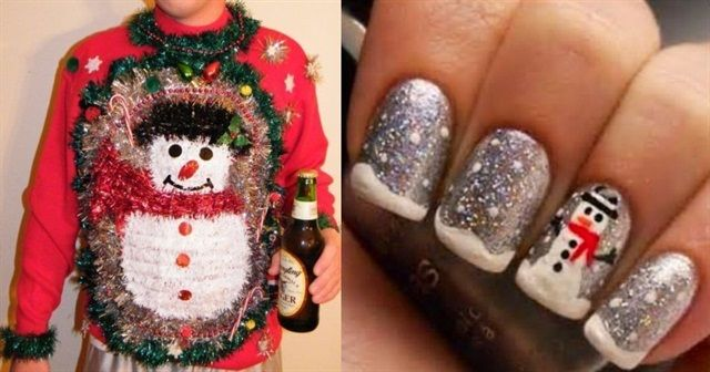 1000 images about christmas nail art on pinterest merry for Loveland tattoo shops