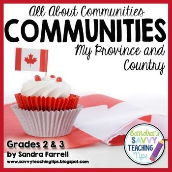All About Communities  My ProvinceThis package includes activities and…