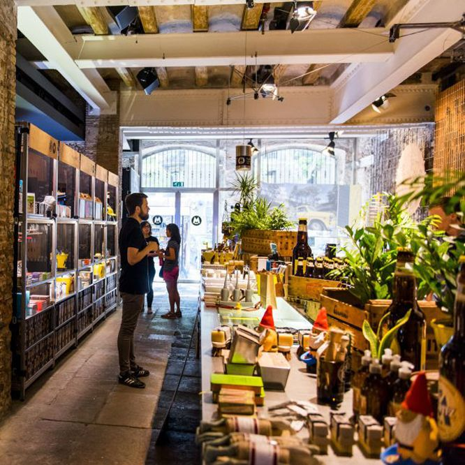 San Antoni: Un bocado de Barcelona   Fábrica Moritz
