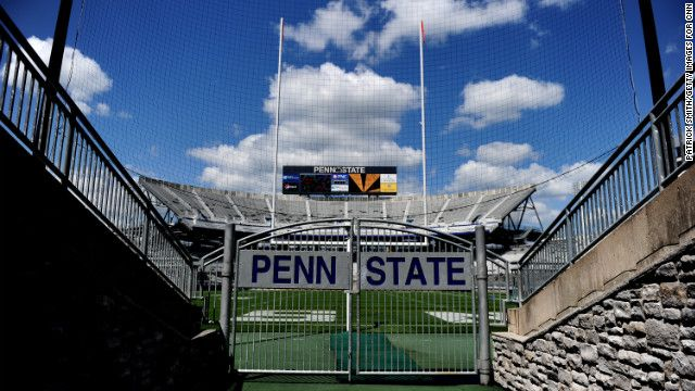 Beaver Stadium, with a seating capacity of more than 106,000, is home to the Penn State football team.