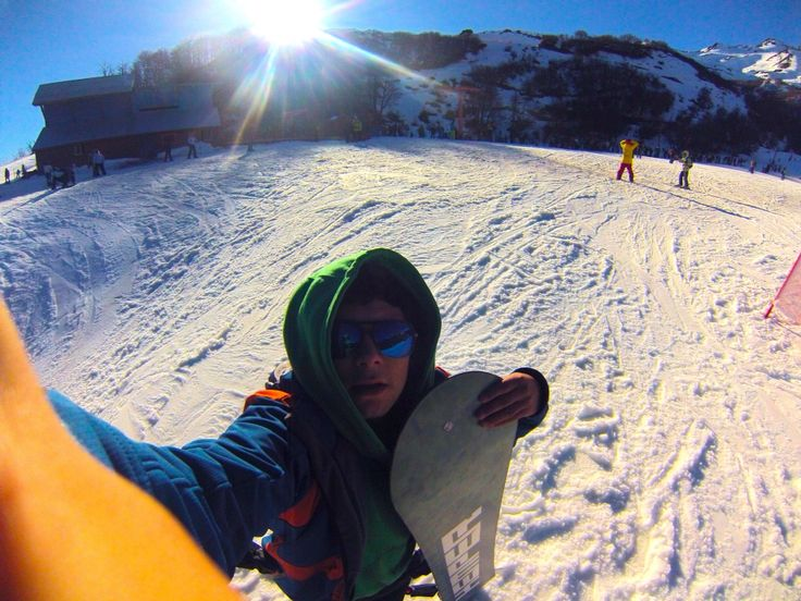 Snowboard termas de chillan !!