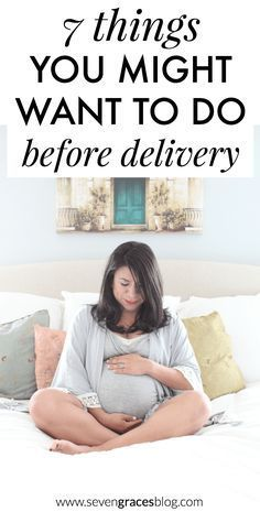 Getting ready for baby: 7 things you might want to do before delivery. This is a great comprehensive list of all the things you will want to take care of before welcoming a new baby. What needs to be on your to-do list before baby? This baby prep list is the best!