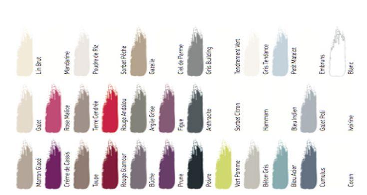 Cuisine & bains, la peinture monocouche spéciale pièces humides avec nuancier 36 couleurs Dulux Valentine