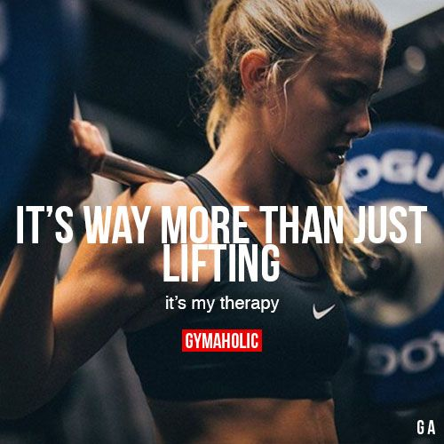 It's Way More Than Just Lifting