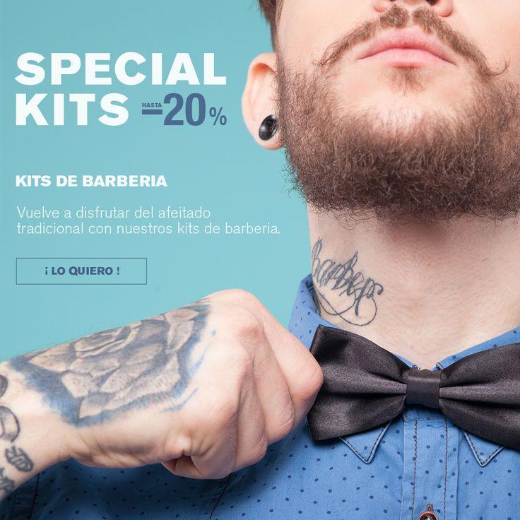 ¡NUEVOS SPECIAL KITS DE BARBERIA! ->¡HASTA UN 20% DE DESCUENTO! ->¡Descubre el placer del afeitado clásico con nuestros kits de barberia! ;) Anímate a visitarnos en ➡www.calenduladistri.com⬅