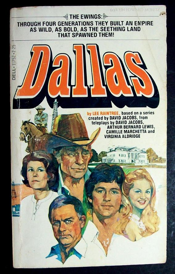 Dallas Tv show I had this book :)