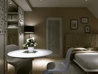 OŚWIETLENIE SYPIALNI: Światło w sypialni powinno komponować się z kolorami ścian, a także z materiałami wykorzystanymi w aranżacji pomieszczenia. Dlatego najczęściej wybierane jest to o ciepłej, subtelnej barwie, rzucające delikatne refleksy na ściany i sufit.