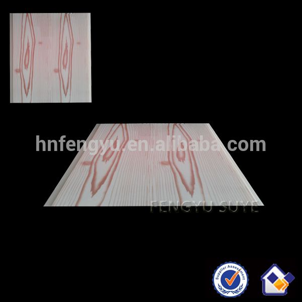 Wood Grain Artistic Pattern PVC Flat False Ciling Design Artistic Appear PVC Ceiling Panel By China Mnufacturer #Appearance, #Artists