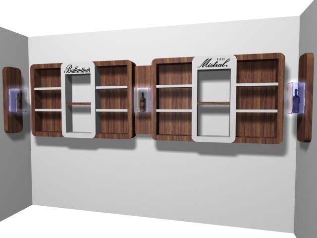 Diseño y Render de Mobiliario