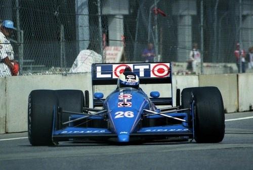 Stefan Johansson Ligier - Judd 1988