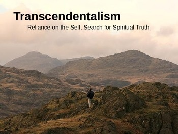 best th grade transcendentalism images  this powerpoint details the transcendentalist movement in america it reviews the origins main concepts