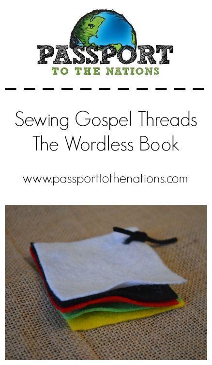 The Wordless Book - back yard Bible club idea using gospel ...