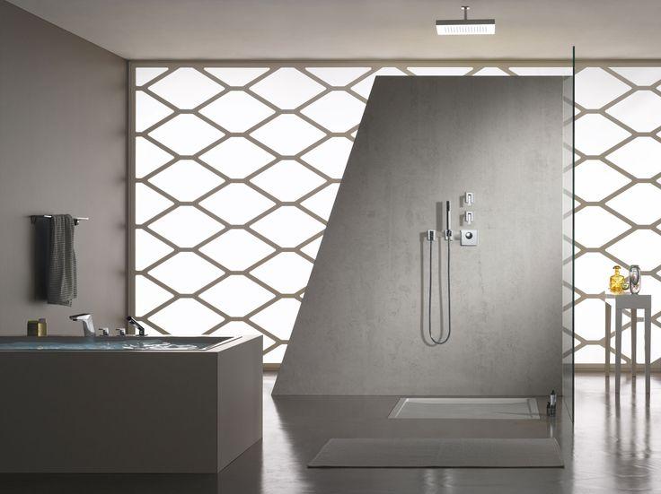 Open shower by Dornbracht.