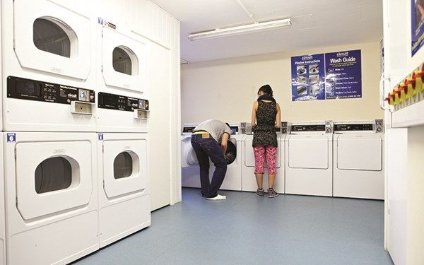 Keep on top of your laundry with our on-site washing machines and dryers.