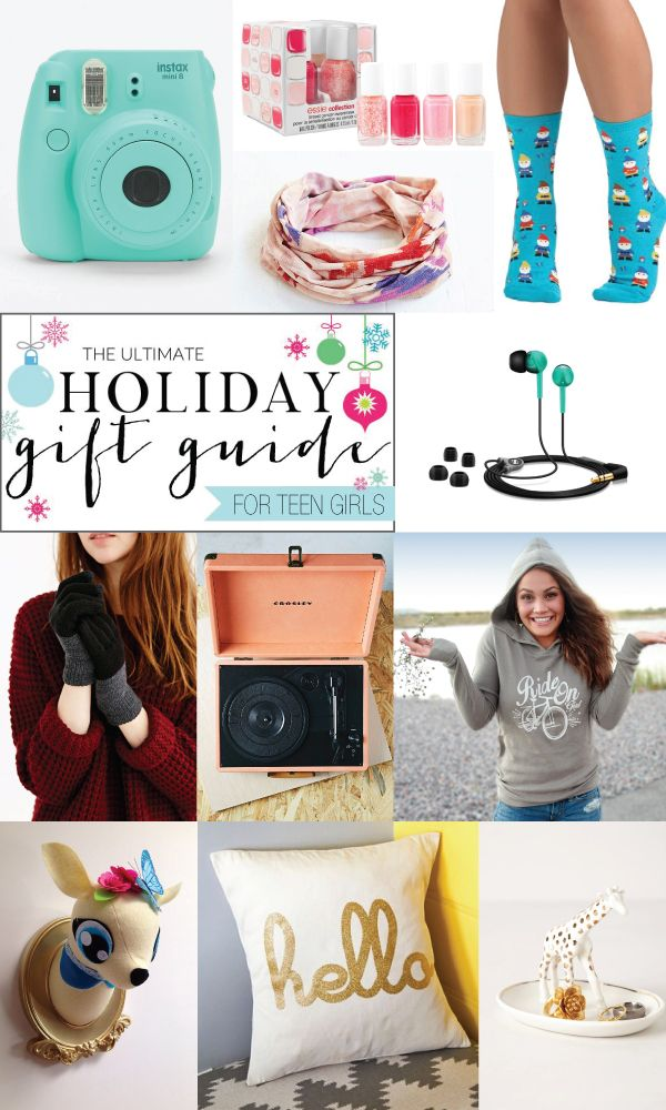 Ultimate Gift Guide for Teen Girls - there are so many cute ideas here!