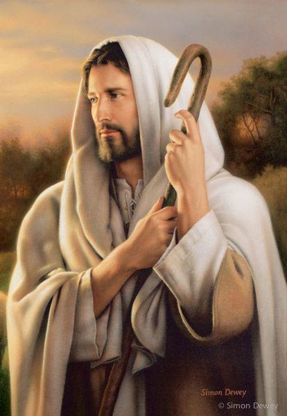 Picture of Christ | The Good Shepherd by Simon Dewey | Altus Fine Art