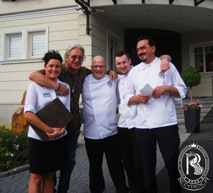 Niepokonany Grzegorz Markowski z zespołu Perfect w Rezydencja Luxury Hotel****.