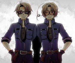 North American bros Hetalia Canada America. <-- This would be a super cute cosplay to do with someone. ^-^