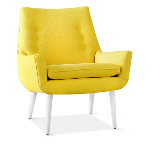 Awesome And Unique Yellow Chair Design Ideas Yellow Chair Modern Yellow  Armchair