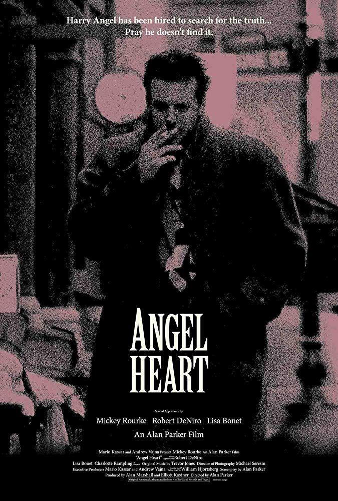 Mickey Rourke In Angel Heart 1987 Best Movie Posters Mickey Rourke Urban Movies