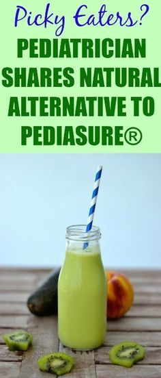 Looking for a healthy alternative for pediasure? This is all natural and tested by a pediatrician! Give your picky eater real nutrition #kids #nutrition #pediasure