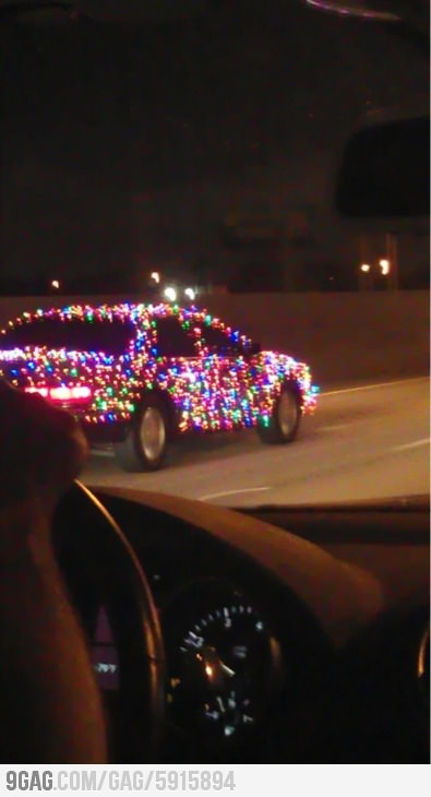 Some people are just so excited about ChristmasChristmas Time, Holiday Lights, Christmas Lights, Funny, Christmas Cars, Future Cars, Christmas Decor, Christmas Intensifies, The Holiday