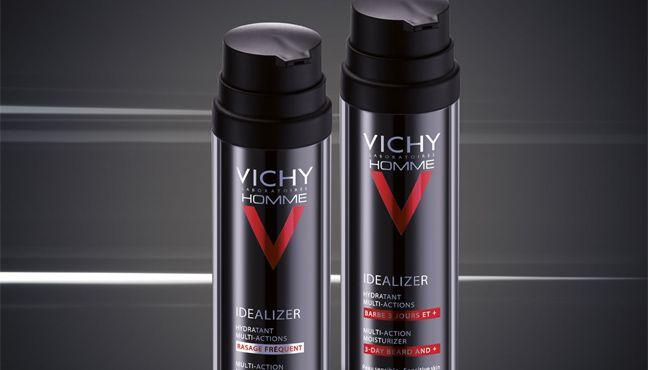 Νέα Vichy Idealizer για τον Άνδρα...  Ενυδατική περιποίηση για τον άνδρα, πριν ή μετά το ξύρισμα...  -Για Βελούδινη επιδερμίδα -Μείωση των ρυτίδων -Μείωση των ερεθισμών  Με προνομιακή έκπτωση γνωριμίας -30% http://www.i-cure.gr/AdvancedSearch.php?Language=el&queryString=IDEALIZ