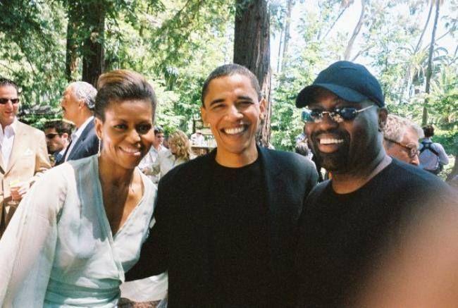Obamas and Frankie Knuckles
