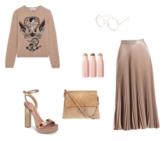 """Untitled #52"" by mariastoica on Polyvore featuring A.L.C., Salvatore Ferragamo, Valentino and Full Tilt"