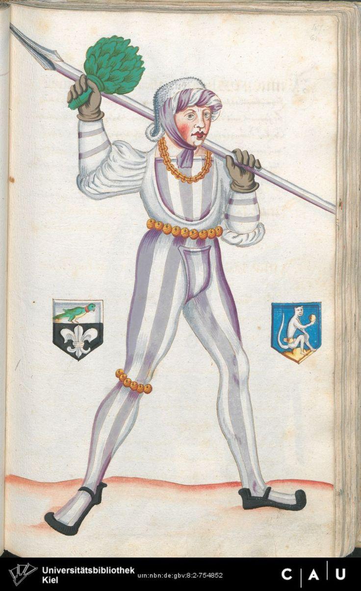 Nürnberger Schembart-Buch Erscheinungsjahr: 16XX  Cod. ms. KB 395  Folio 122