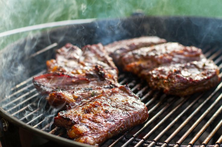 Korean marinated grilled wagyu chuck flap another pint