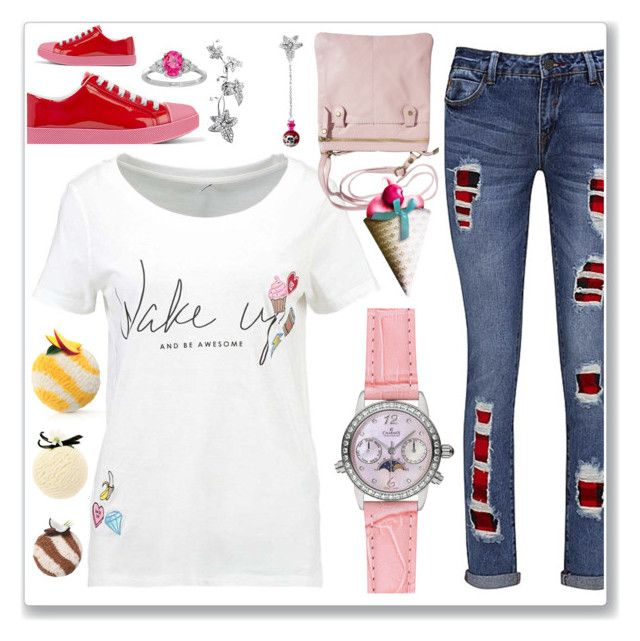 Sweet ice cream set :-) by amisha73 on Polyvore featuring moda, Joe Browns and Prada