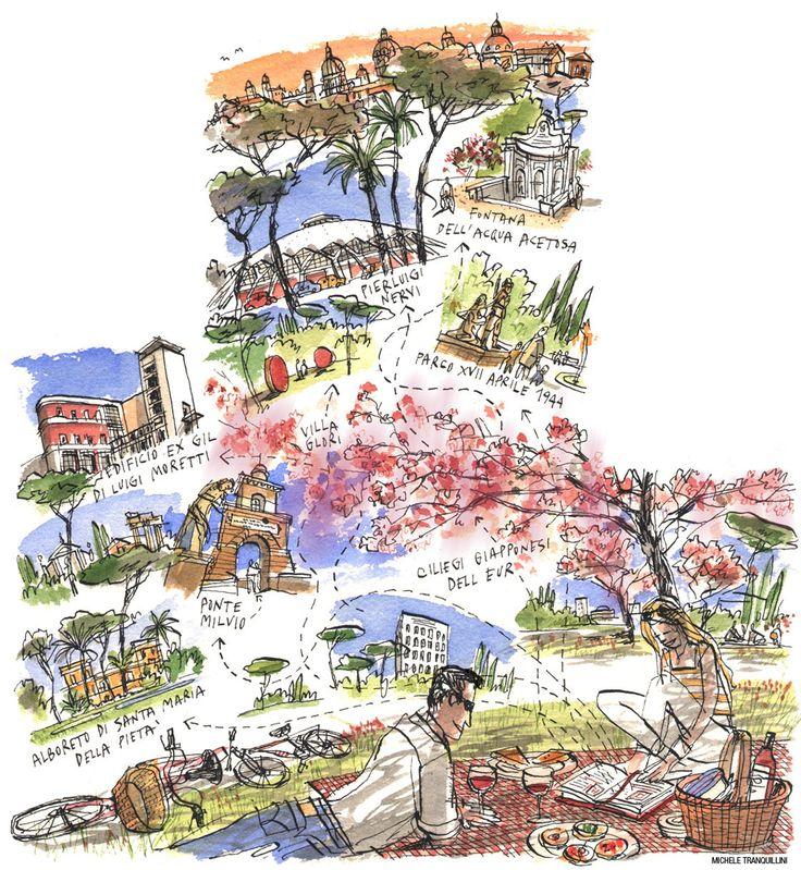 La Mappa di Roma vista da Michele Tranquillini