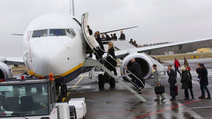 Ryanair stanser billettsalget på alle store ruter fra Rygge - Aftenposten