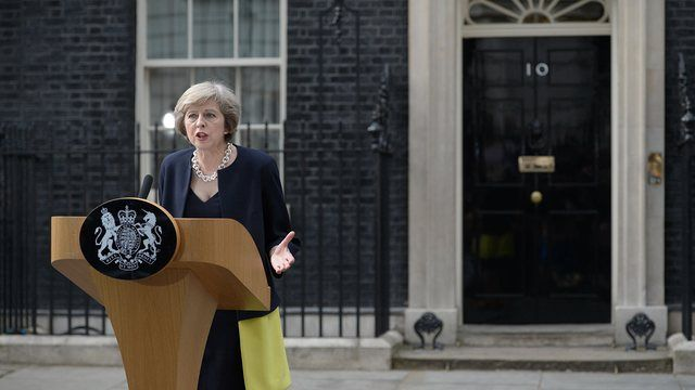 Theresa May becomes prime minister and appoints Boris Johnson foreign secretary