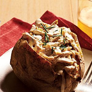 Chicken and White BBQ Potatoes Recipe