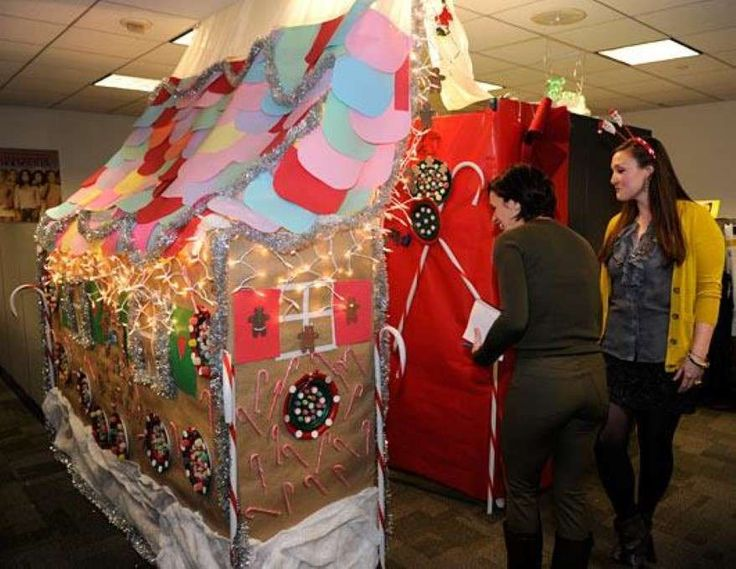 Office Cubicle Christmas Decorating Contest Http Sdyxt
