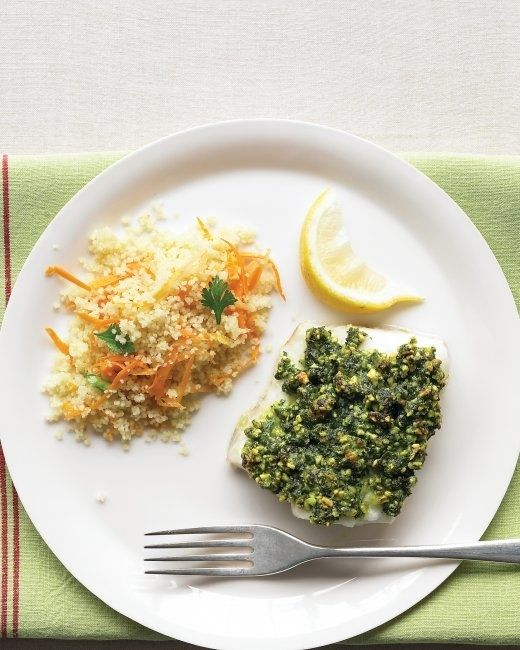 Pistachio-Crusted Cod | 23 Quick And Delicious Fish Dinners