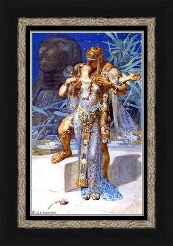 J. C Leyendecker Anthony and Cleopatra ca by RosiesVintagePrints, $18.00