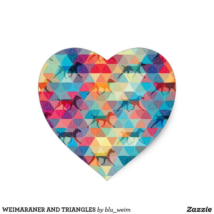 WEIMARANER AND TRIANGLES