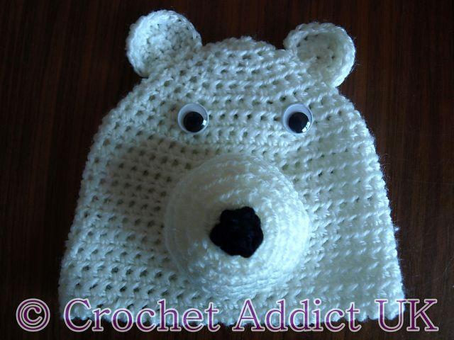 61 best polar bear crochet patterns images on pinterest crochet ravelry polar bear beanie hat newborn 12 months pattern by crochet addictuk dt1010fo