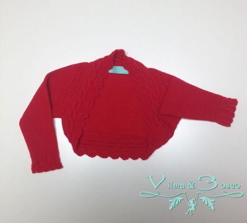 Vilma & Bosco ~ Colección Primavera Verano 2014 | #Chaqueta bolero - Familia #Marina | #Moda #infantil, diseños para bebés, niños y niñas hasta los 10 años | #celebraciones