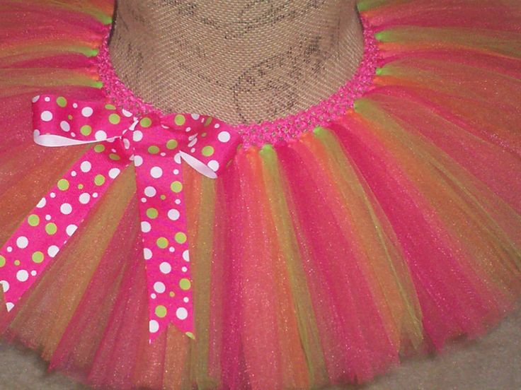 Basic Mutli-Color Running Tutu in your choice of colors - pinned by pin4etsy.com