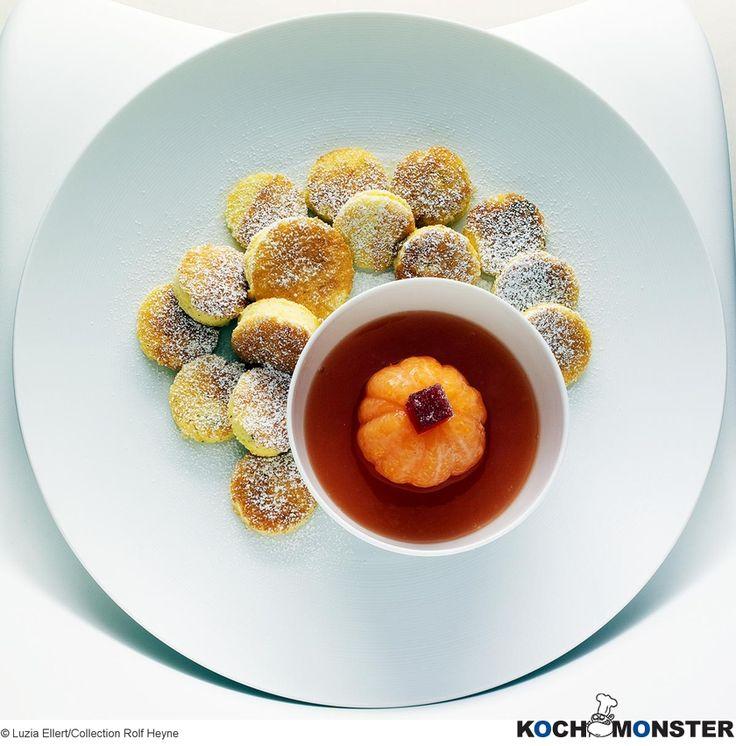 Süßer Kartoffelschmarrn mit Frischkäse und Mandarinenkompott Foto (c) Luzia Ellert/Collection Rolf Heyne (stark reduzierte Bildqualität)